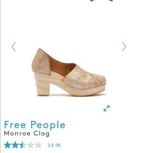 Free People Shoes - Free People Monroe Clog Shoes